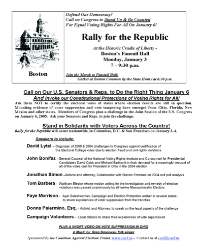 rally for the republic flier